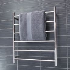 round heated towel rail